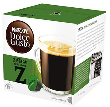 buy zoegas coffee capsules sk nerost dolce gusto online. Black Bedroom Furniture Sets. Home Design Ideas