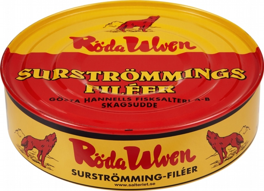 Buy Röda Ulven ( Red Wolf ) Surstromming online from Made ...